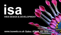 ISA Web Design & Development Business Card