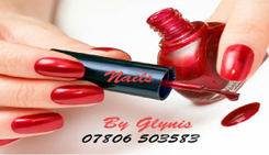 Nails by Glynis Business Card